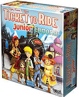 Настольная игра Hobby World Ticket to Ride Junior: Европа  (1867), фото 1