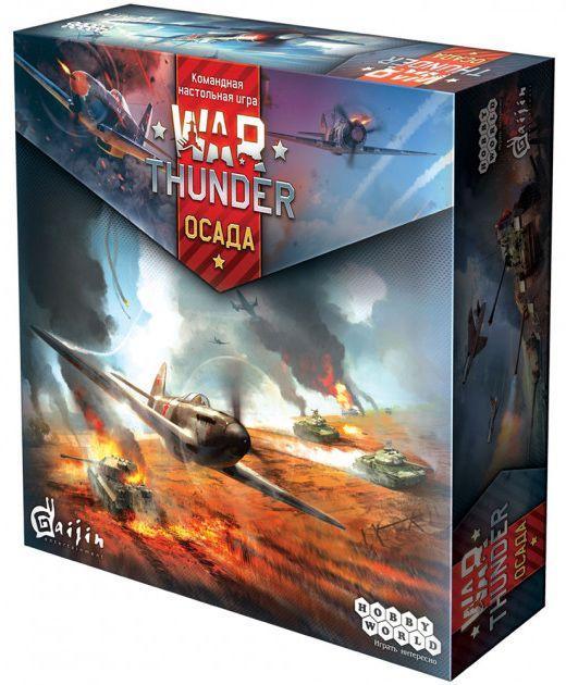 Настольная игра Hobby World War Thunder: Осада (1634)
