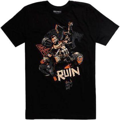 Футболка Gaya Call of Duty Black Ops 4 T-Shirt - Ruin Knock Black  S