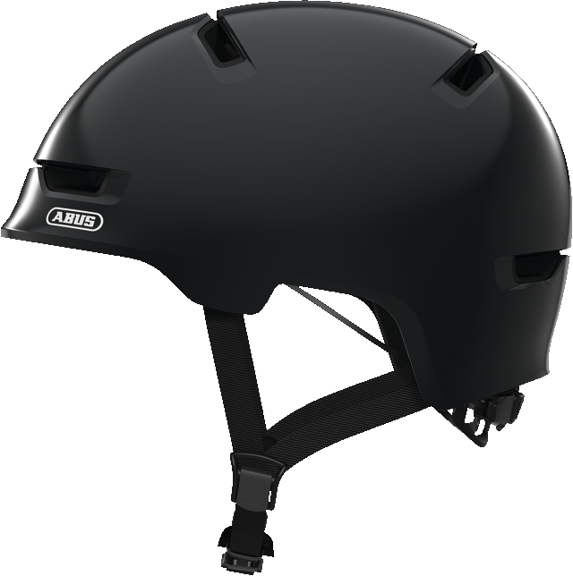 Велошлем детский ABUS SCRAPER 3.0 KID Shiny Grey M (54-58 см)