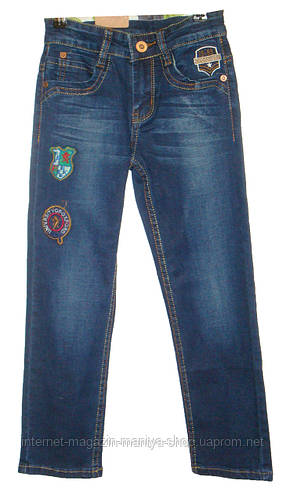 Мужские джинсы на флисе ЮНИОР