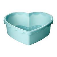 SOCKERKAKA Форма для выпечки, в форме сердца голубой