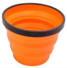 Кружка складная туристическая Sea To Summit X-Cup Orange, фото 2