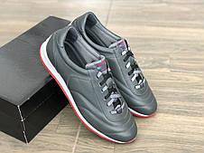Кожаные кроссовки мужские MIDA 110867 сер размеры 40,41,42,44,45