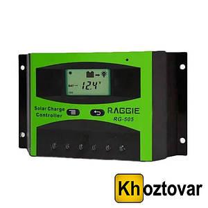 Контролер заряду сонячних батарей RG-505   40A