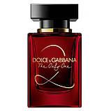 Dolce & Gabbana The Only One 2 парфумована вода 100 ml. (Тестер Дольче Габбана Зе Онлі Ван 2), фото 2