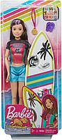 Кукла Barbie Dreamhouse Adventures Скиппер Серфингистка Спортивные сестры на шарнирах GHK36, фото 6