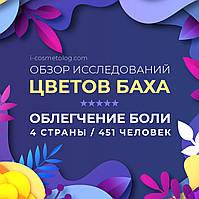 Клинические исследования цветочных средств Баха на уменьшение боли. 4 кейса
