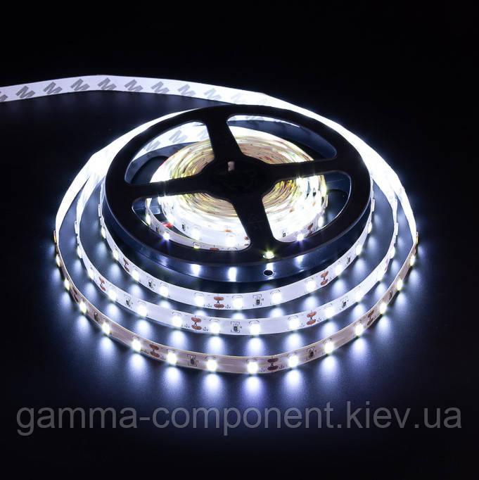 Светодиодная лента SMD 5730 (60 LED/м), белый, IP20, 12В, бобина от 5 метров