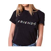 Летняя молодежная женская футболка с принтом FRENDS, фото 1