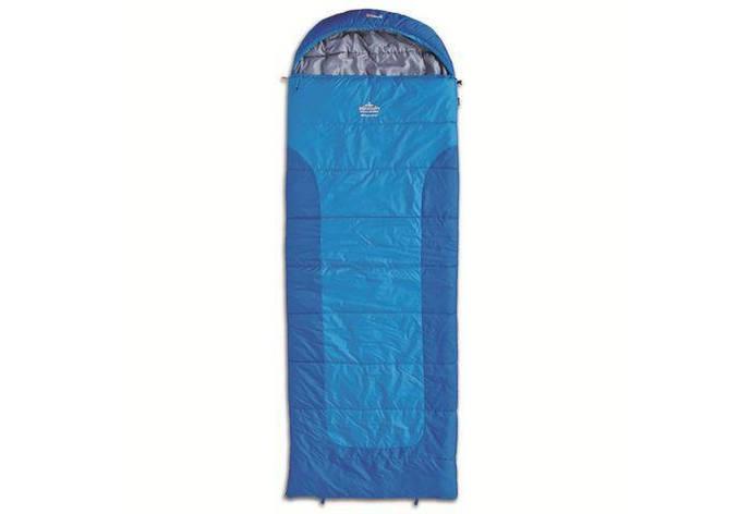 Спальный мешок Pinguin Blizzard Синий, Правая, фото 2