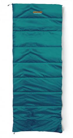 Спальный мешок Pinguin Lite Blanket Petrol, 190, Правая, фото 2