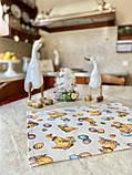 """Наперон\доріжка на стіл """"Каченята"""", 37х100 см, фото 3"""