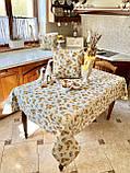 """Наперон\доріжка на стіл """"Каченята"""", 37х100 см, фото 5"""