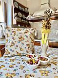 """Наперон\доріжка на стіл """"Каченята"""", 37х100 см, фото 7"""