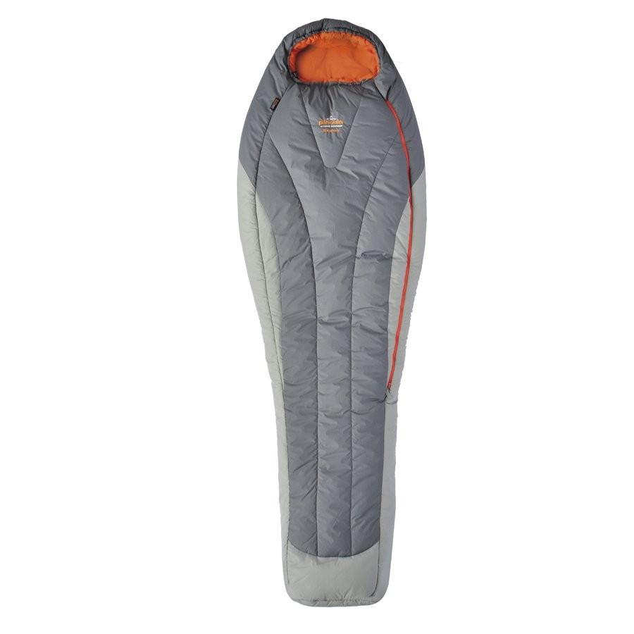 Спальный мешок Pinguin Expert Grey, 185, Левая