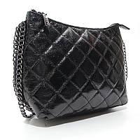 Черная сумка val-20910 bla Valenciy маленькая через плечо, фото 1