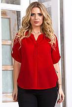 Блузка 5632 красная