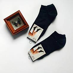 Короткие женские носки V&T socks черного цвета