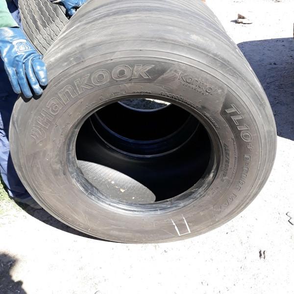 Грузовые шины б.у. / резина бу 435.50.r19.5 Hankook TL10+ E cube Max Хэнкук. Мегаход
