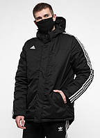 Куртка зимняя Adidas - Line, Black