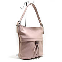 Розовая сумка it-2467 pud через плечо пудровая летняя мешок, фото 1