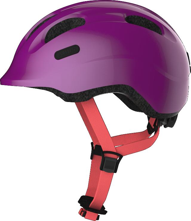 Велошлем детский ABUS SMILEY 2.1 Sparkling Plum S (45-50 см)