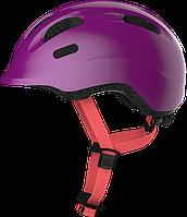Велошлем детский ABUS SMILEY 2.1 Sparkling Plum S (45-50 см), фото 1