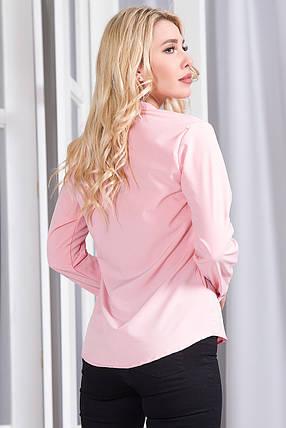 Блузка 757 розовая размер 48, фото 2