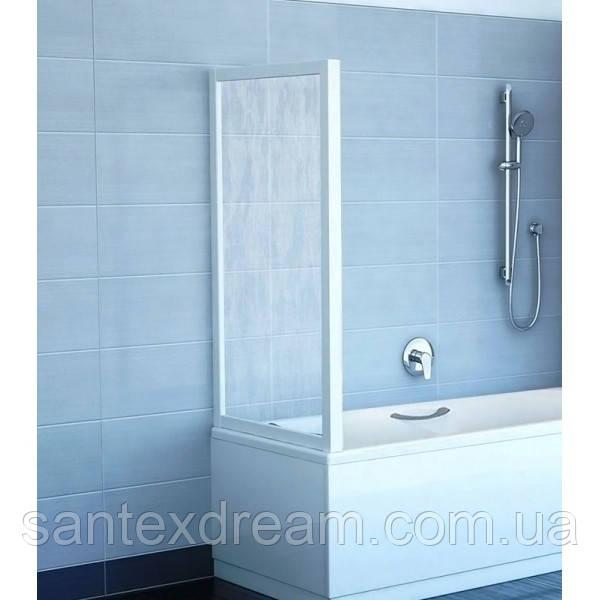 Штора для ванной Ravak APSV-75 75,5x137 стекло transparent
