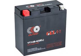 Мото аккумулятор Outdo 12 Ah YT14B - 4 (GEL)/(8х) HCOG-12N-0