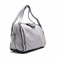 Серая сумка it-260 gra деловая летняя из натуральной кожи, фото 1