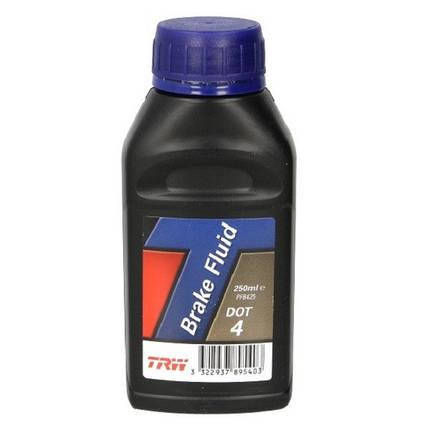 Тормозная жидкость TRW PFB425 DOT4 0.25 л, фото 2