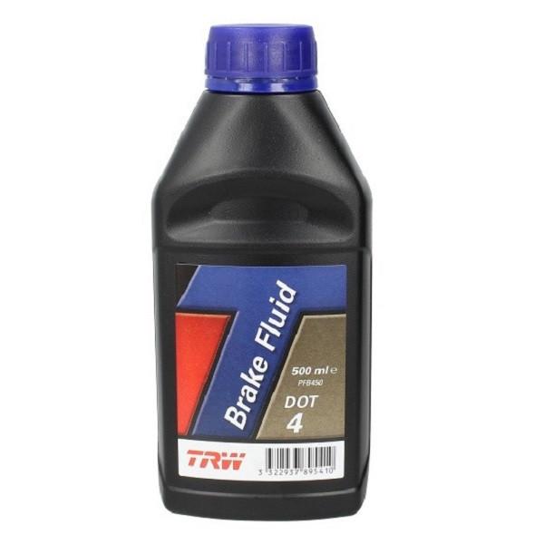 Тормозная жидкость TRW PFB450 DOT4 0.5 л