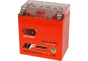 Мото аккумулятор Outdo 11 Ah  YB10L-BS (GEL)/(8х) HCOG11-1