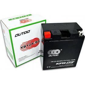 Мото аккумулятор Outdo 12 Ah YB12A-BS MF (FA)/(8х) HCOMF-12-0