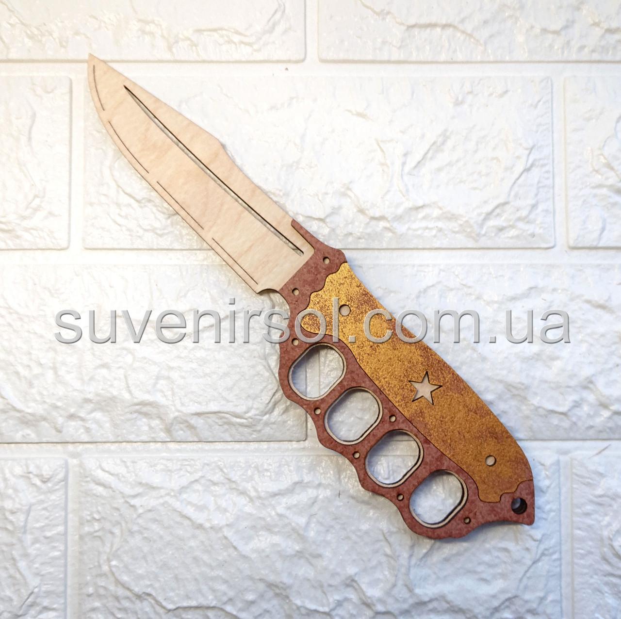 Деревянный нож костет №11