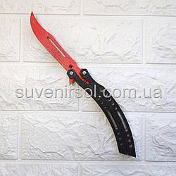 Деревянный нож бабочка
