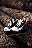 Кеды женские кроссовки Converse Chuck Taylor All Star Black Черные 40 (25. 5)