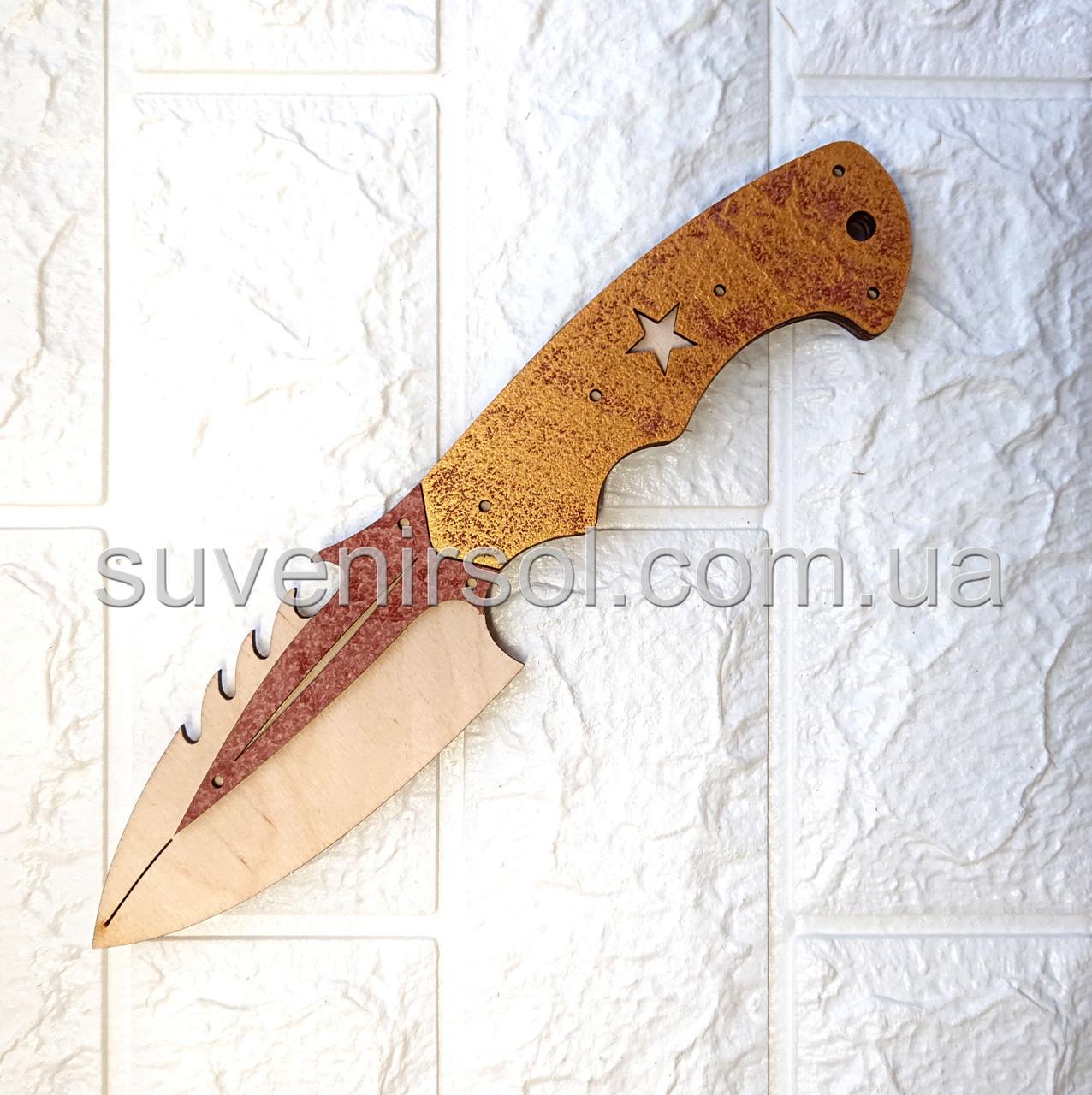Деревянный нож 2