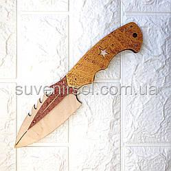 Деревянный нож широкий №13