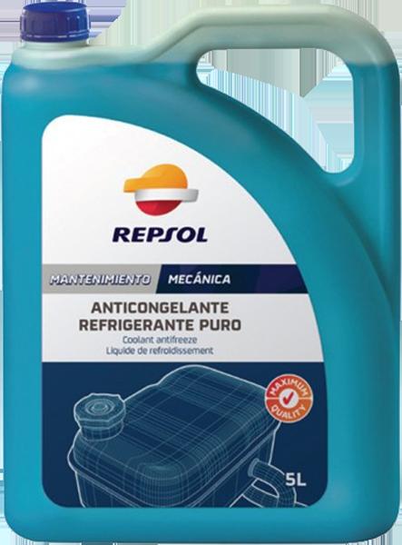 Антифриз G11 синий концентрат 5л REPSOL ANTICONGELANTE PURO BOTE / RP700R39