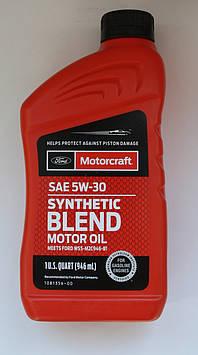 Ford Motorcraft Synthetic Blend 5W-30 (для 2.0, 2.7)