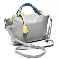 Серая сумка it-184 gra деловая летняя из натуральной кожи, фото 1