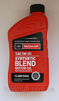 Ford Motorcraft Synthetic Blend 5W-20 (для 3.5)