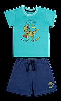 Детский летний костюм для мальчика *Технозавр* на рот 86, 92, 98