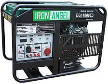 Генератор бензиновый трёхфазный с автоматикой Iron Angel EG 11000 E3 ATS (11 кВт, 3 ф)