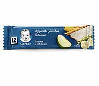 Гербер Фруктово-злаковий батончик банан,яблуко 25г НОВИНКА!!!