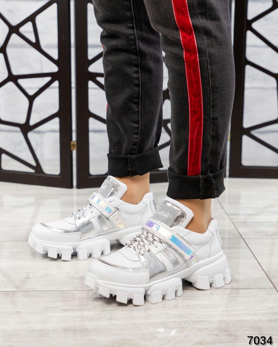 Женские белые Туфли в спортивном стиле