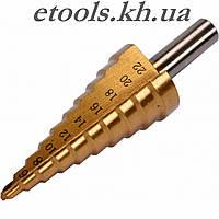 Сверло ступенчатое по металлу YATO 4-22 мм